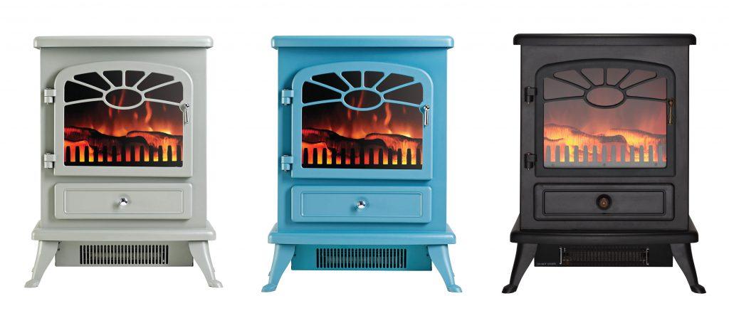 fire place modern garden rooms