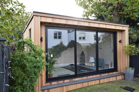A garden summer house