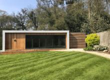 A garden cabin