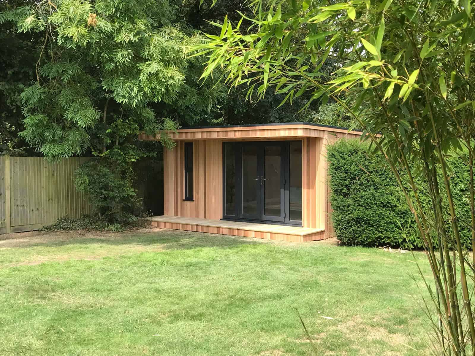 Garden summer house ideas