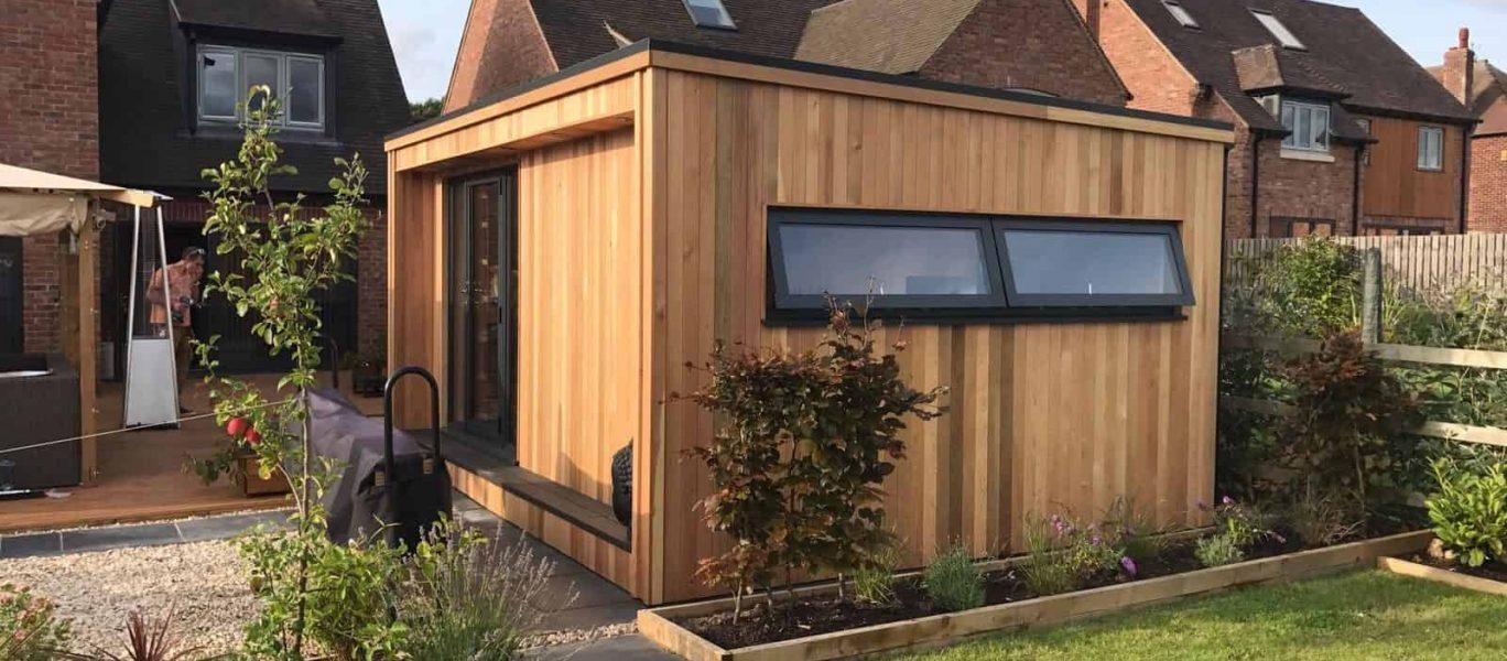 Garden room, luxury and contemporary