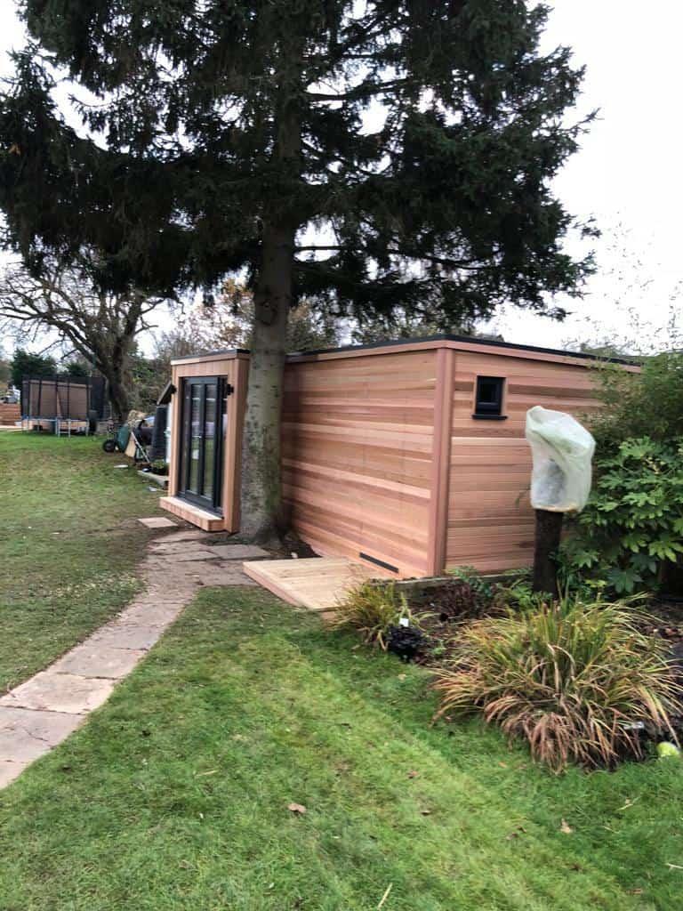 Garden Office With Storage