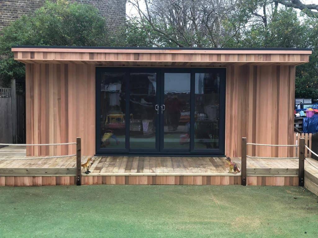 Insulated Garden Office >> Garden Nursery 6m x 3m - Garden Offices & Studios, Modern and Contemporary