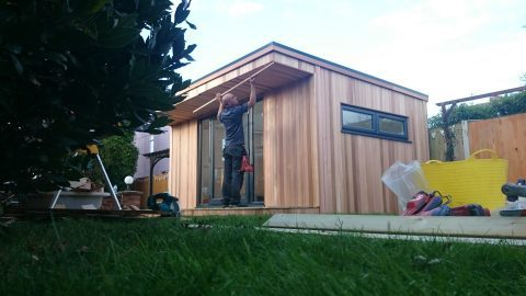 Insulated garden room uk