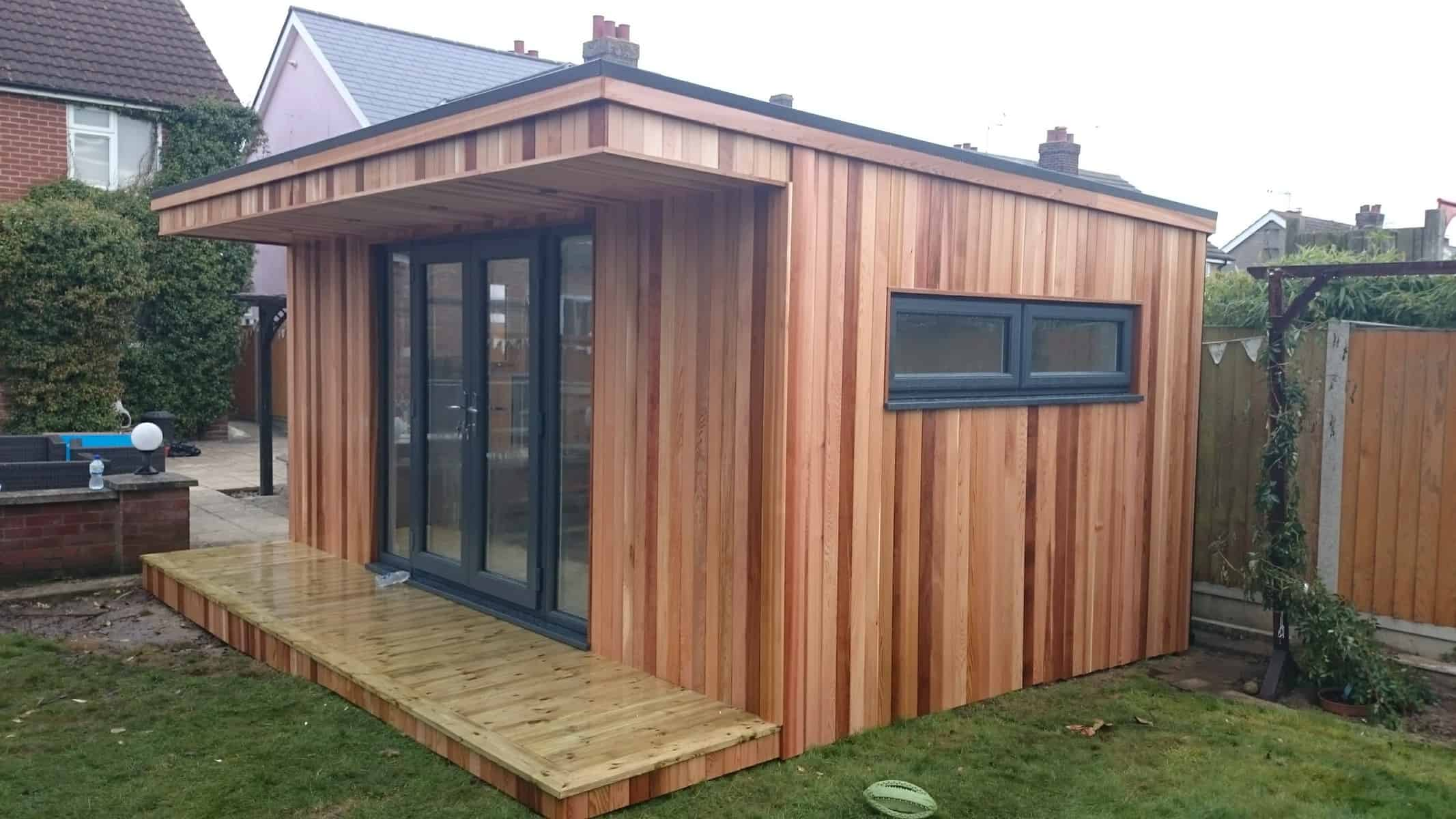 Insulated Garden Room Essex UK