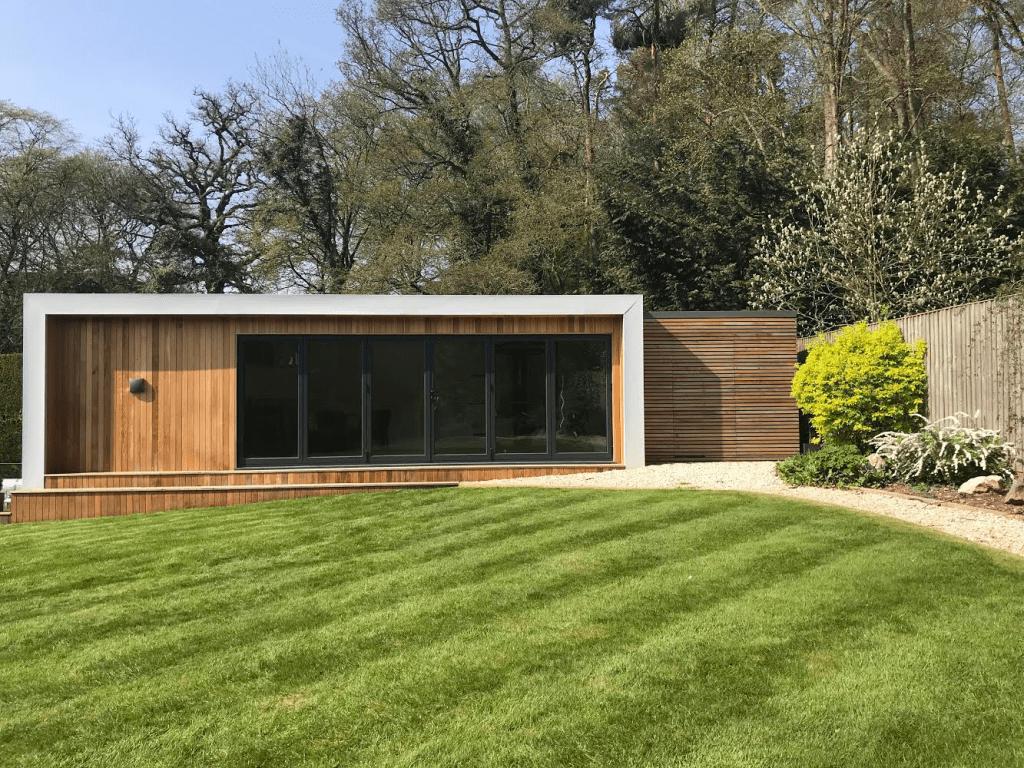 pool house garden room