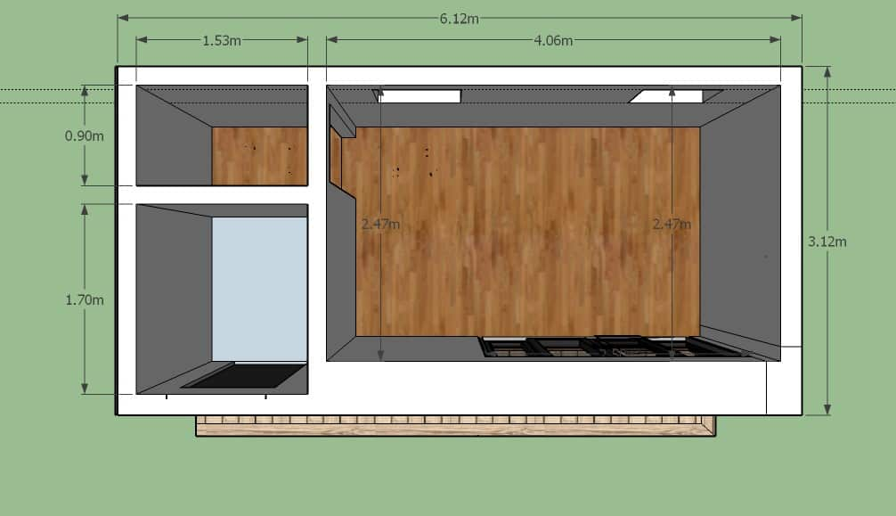 garden office with storage shed (plans)