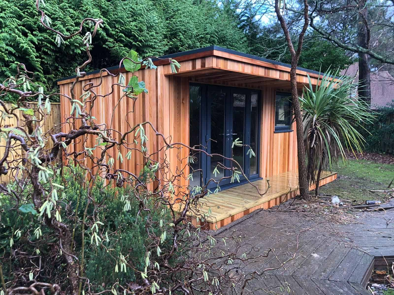 Garden cabins for winter too!