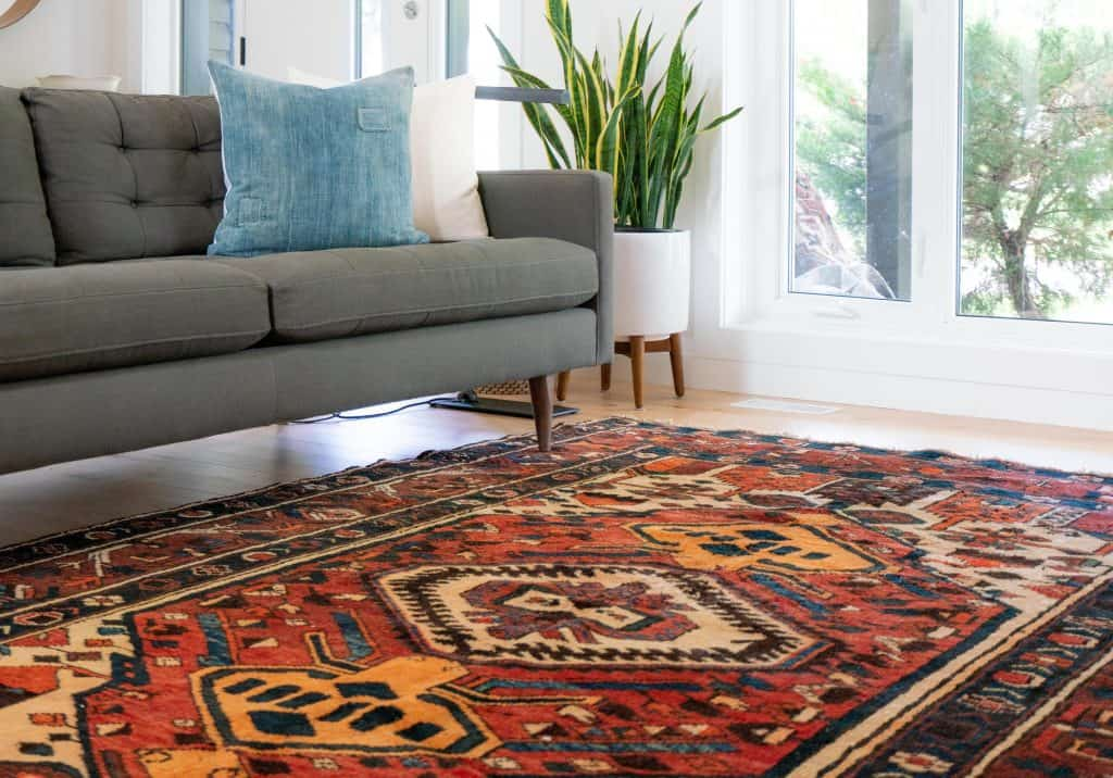 rugs work well in insulated garden rooms