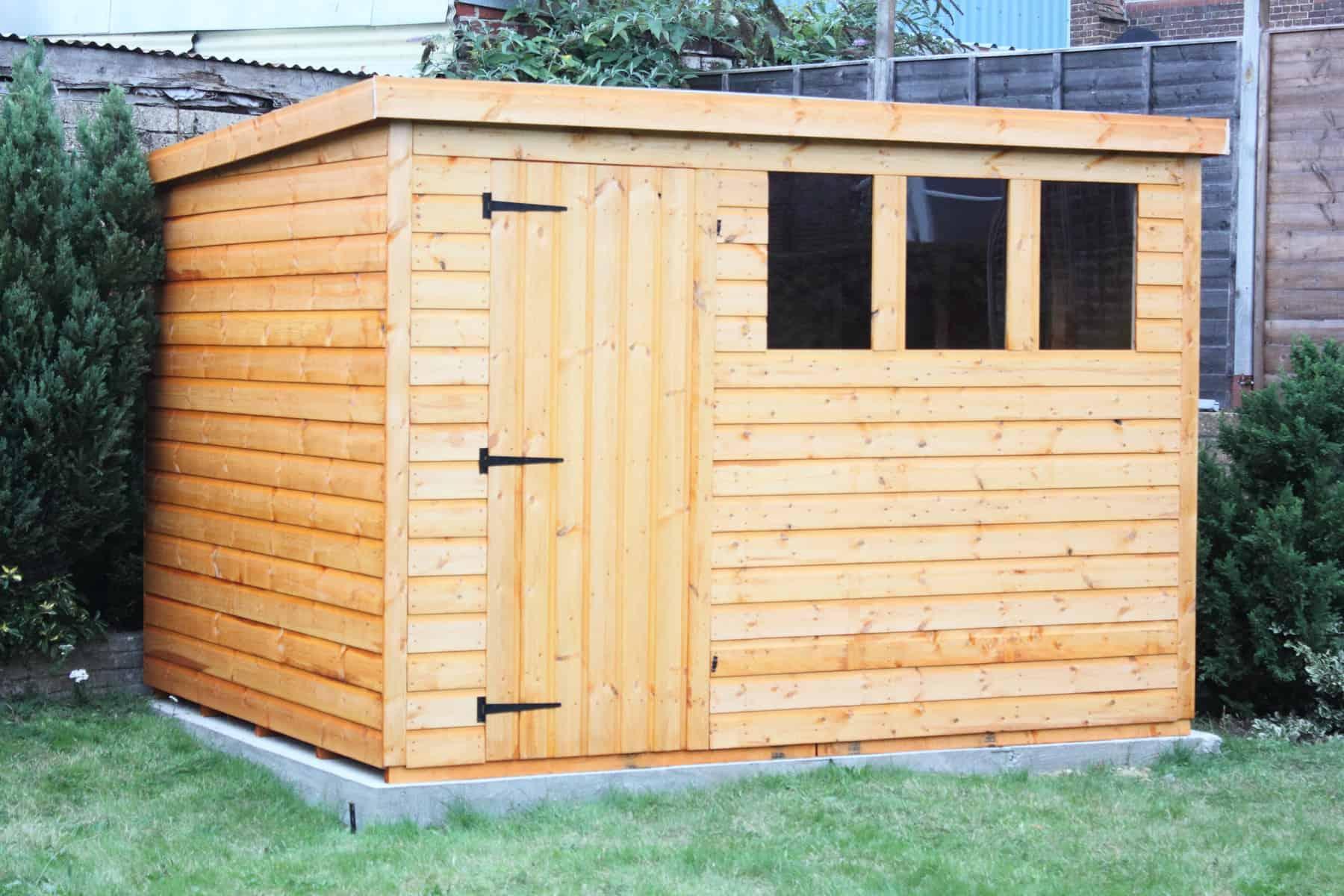 outbuilding ideas - a garden shed