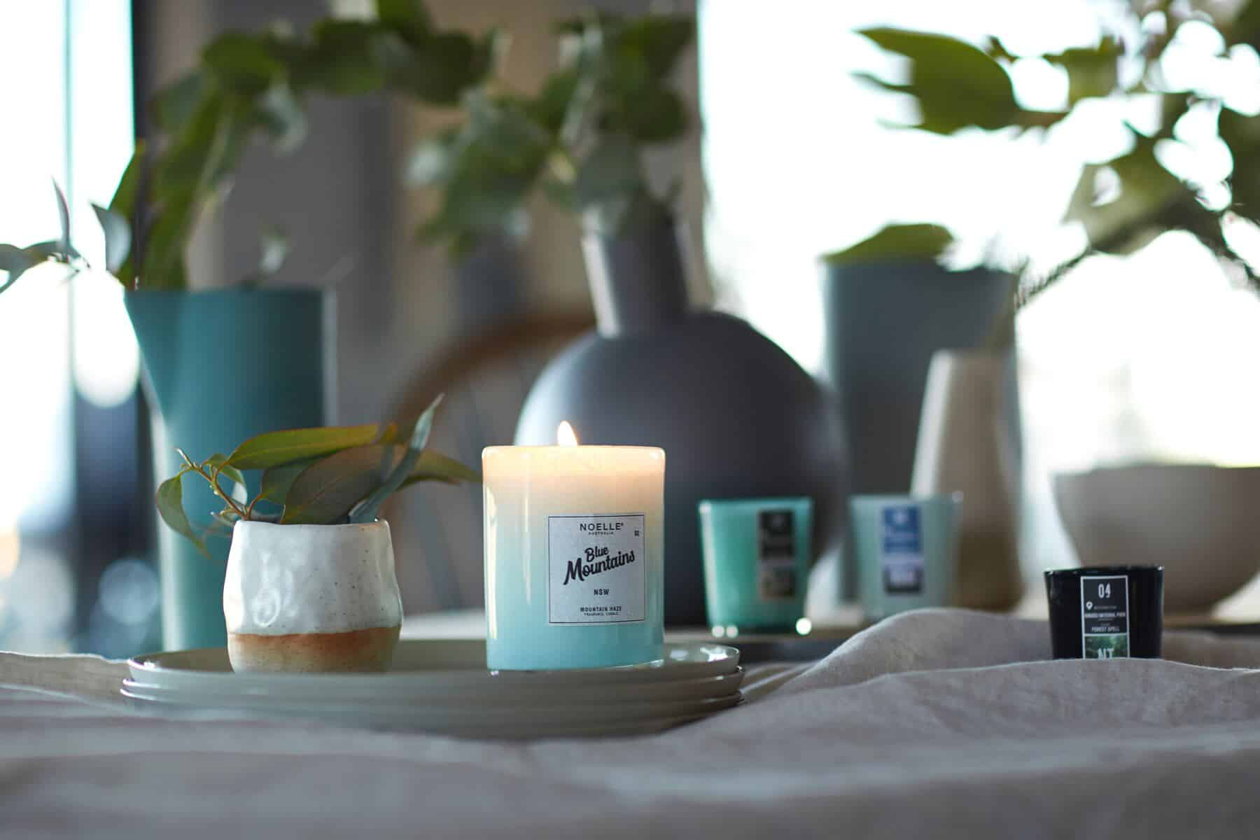 candles - room to inspire