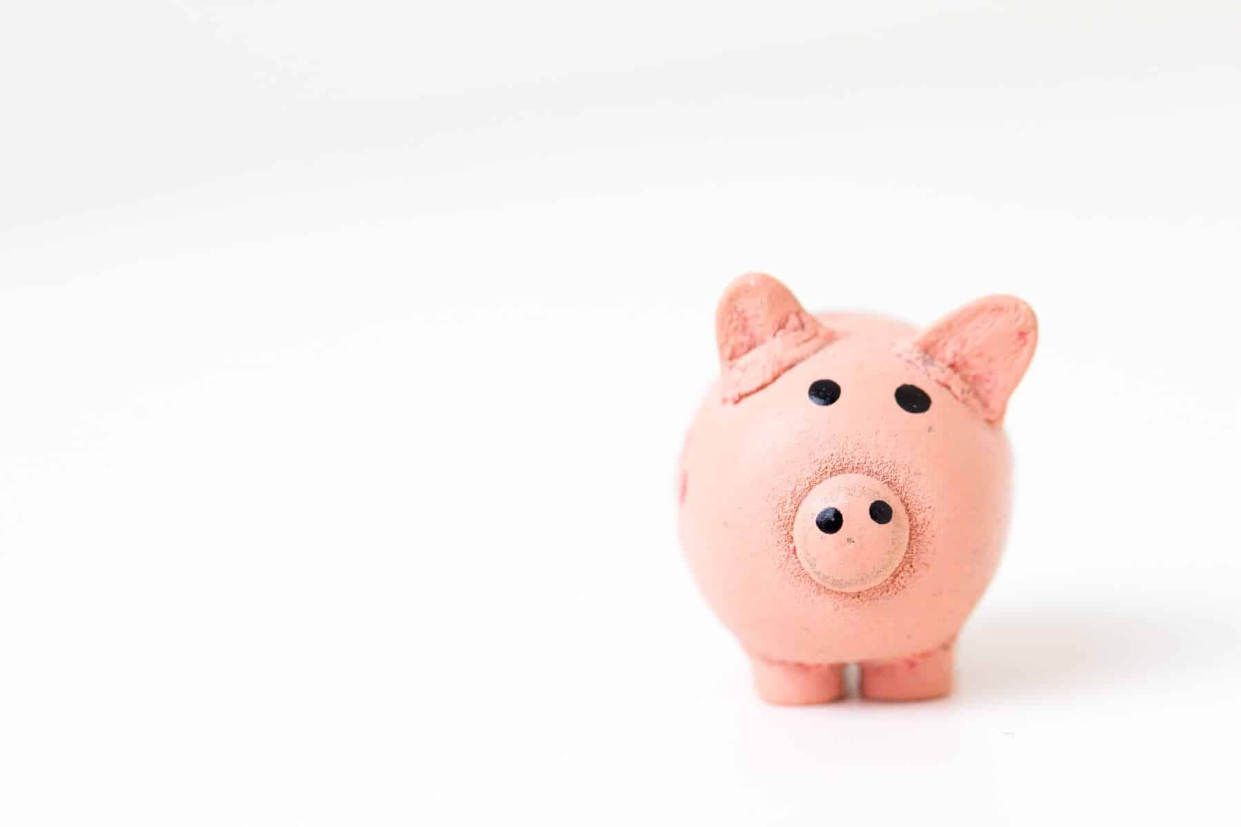 piggy bank - 5 Ways A Garden Lodge Could Benefit You Financially