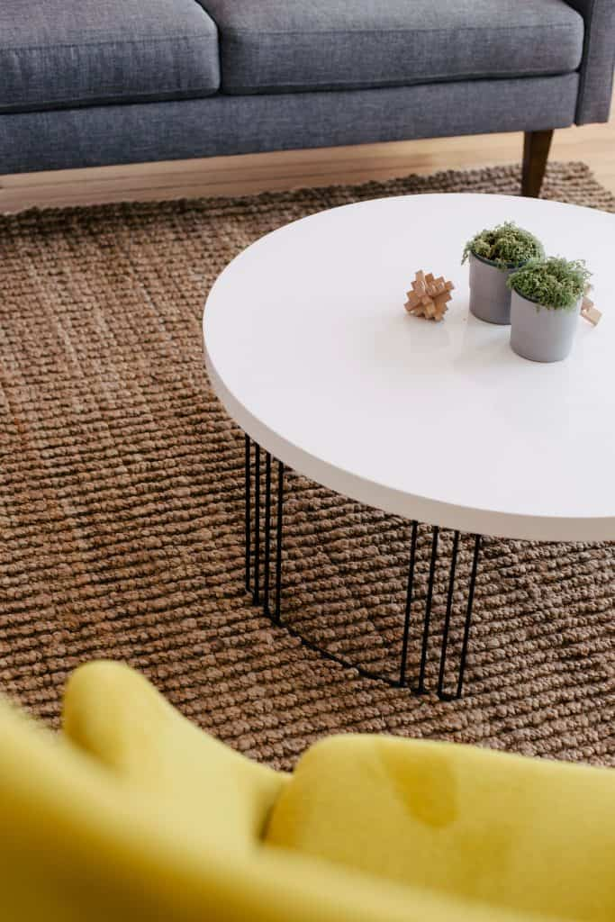 coffee table - what to put in a summer house