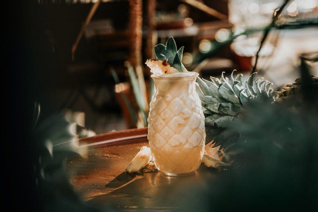 pina colada garden bar