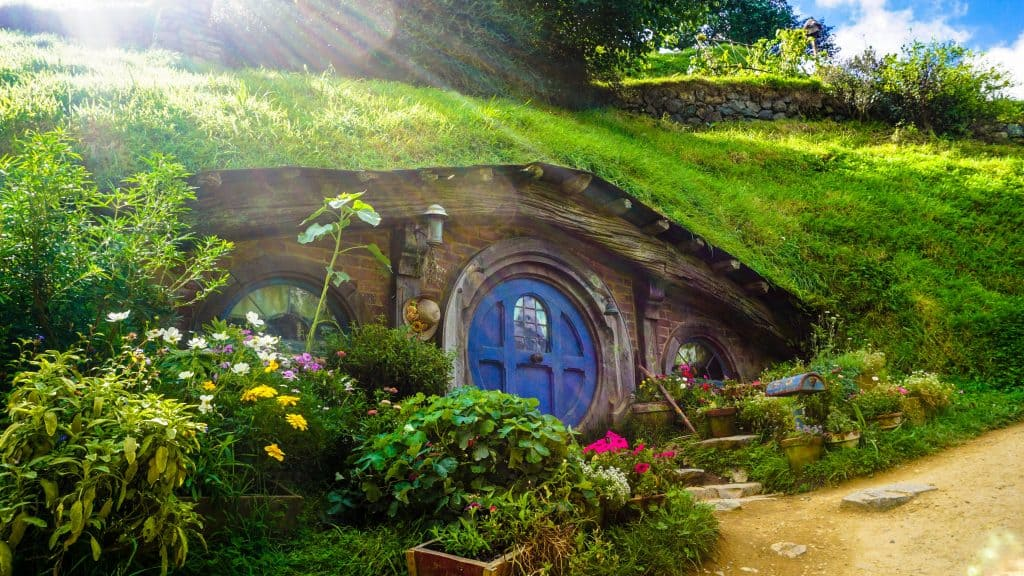 a hobbit house - luxury garden sheds