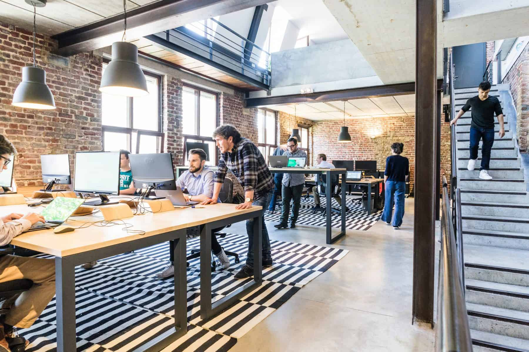 Industrial style for your office cabin