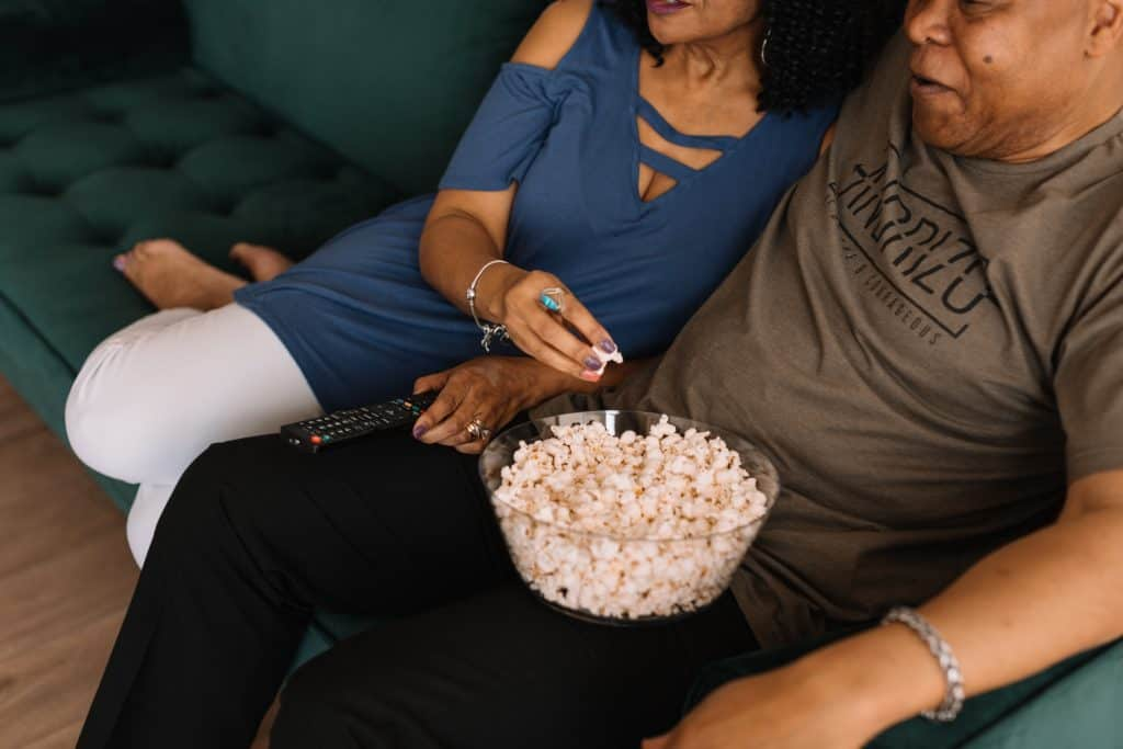 How Can You Use Your Garden Room This Winter? Movie night