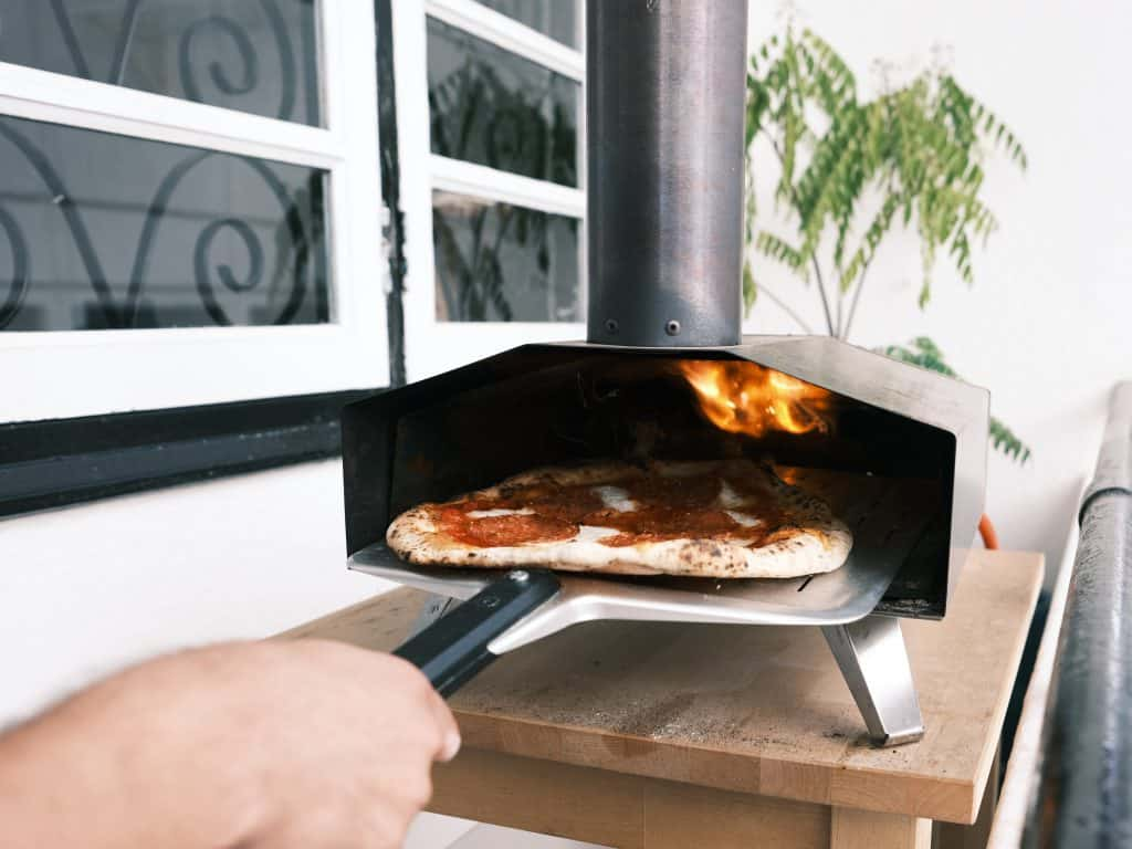 The rule of six: Socialising in your garden this year (pizza oven)