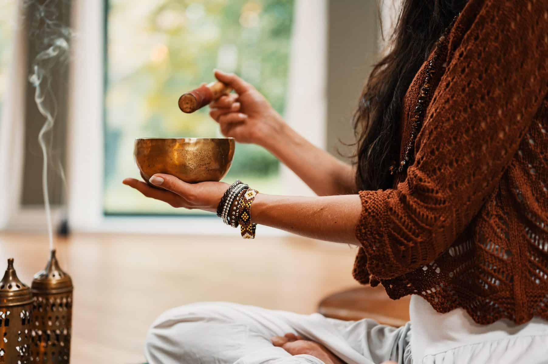 turn your garden room into a meditation space
